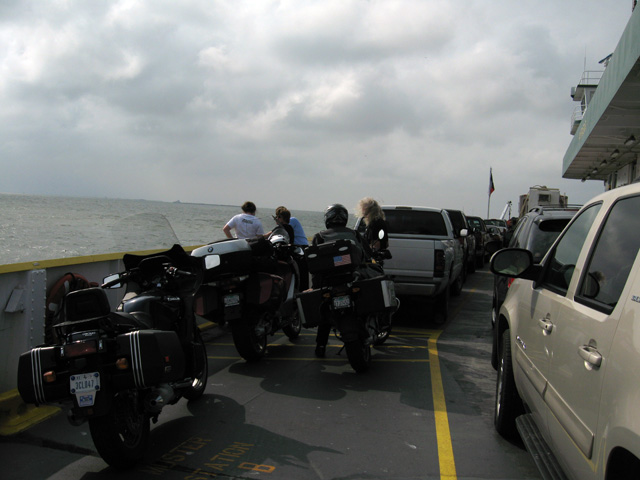 Ferry From Galveston To Goat Island